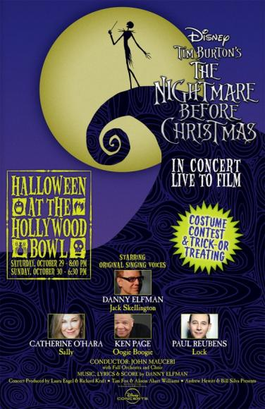 Danny Elfman: Nightmare Before Christmas - Live to Film at Hollywood Bowl