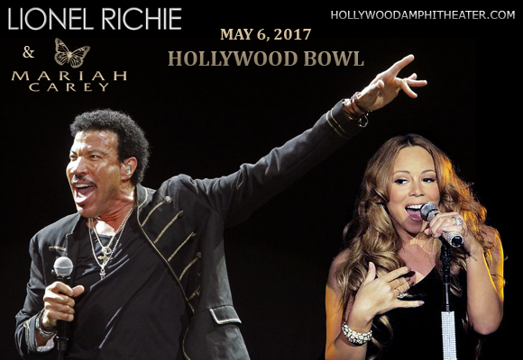 Lionel Richie & Mariah Carey at Hollywood Bowl