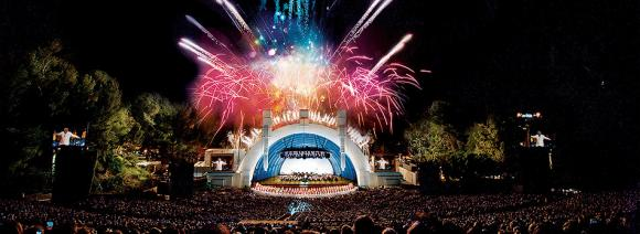 Opening Night With Fireworks at Hollywood Bowl