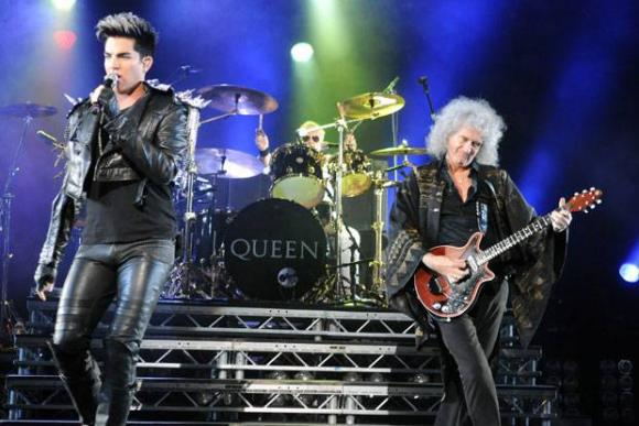 Queen & Adam Lambert at Hollywood Bowl