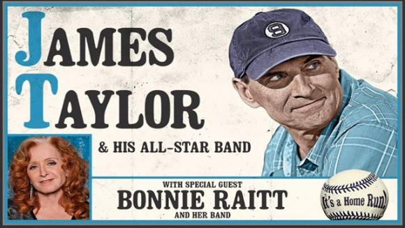 James Taylor and His All Star Band & Bonnie Raitt at Hollywood Bowl