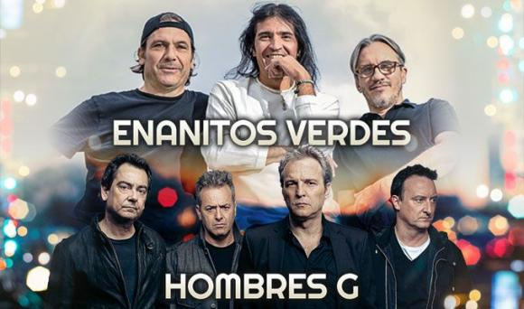 Enanitos Verdes & Hombres G at Hollywood Bowl