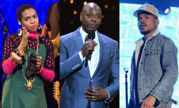 Lauryn Hill & Dave Chappelle at Hollywood Bowl
