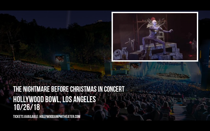 The Nightmare Before Christmas In Concert at Hollywood Bowl