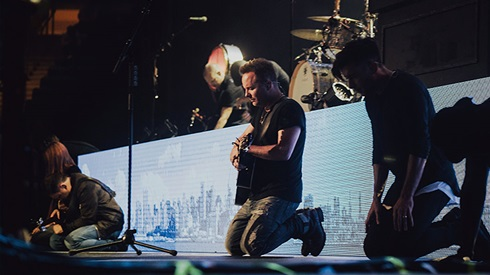 Chris Tomlin at Hollywood Bowl