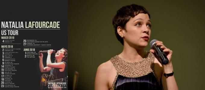 Natalia LaFourcade at Hollywood Bowl