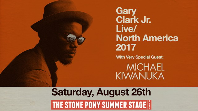 Gary Clark Jr. & Michael Kiwanuka at Hollywood Bowl
