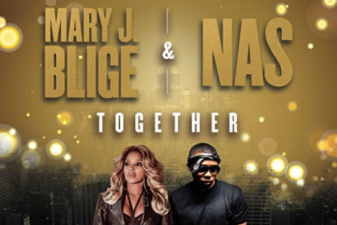 Mary J. Blige & Nas at Hollywood Bowl