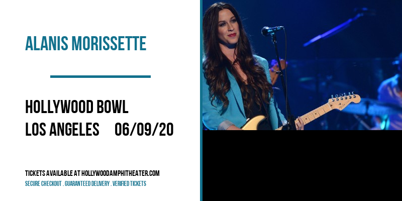 Alanis Morissette at Hollywood Bowl