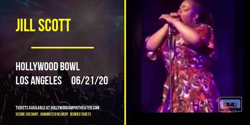Jill Scott at Hollywood Bowl