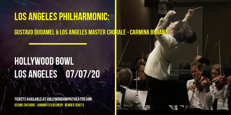 Los Angeles Philharmonic: Gustavo Dudamel & Los Angeles Master Chorale - Carmina Burana at Hollywood Bowl