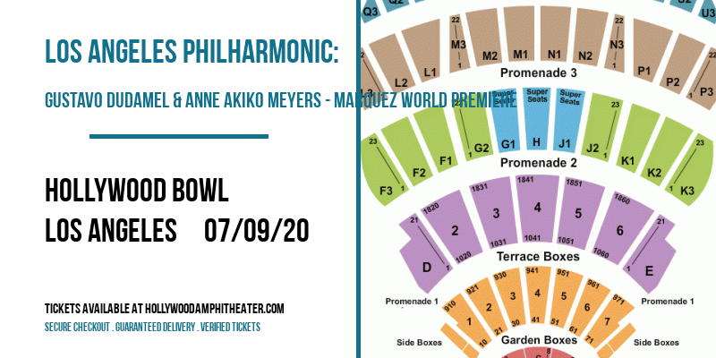 Los Angeles Philharmonic: Gustavo Dudamel & Anne Akiko Meyers - Marquez World Premiere at Hollywood Bowl