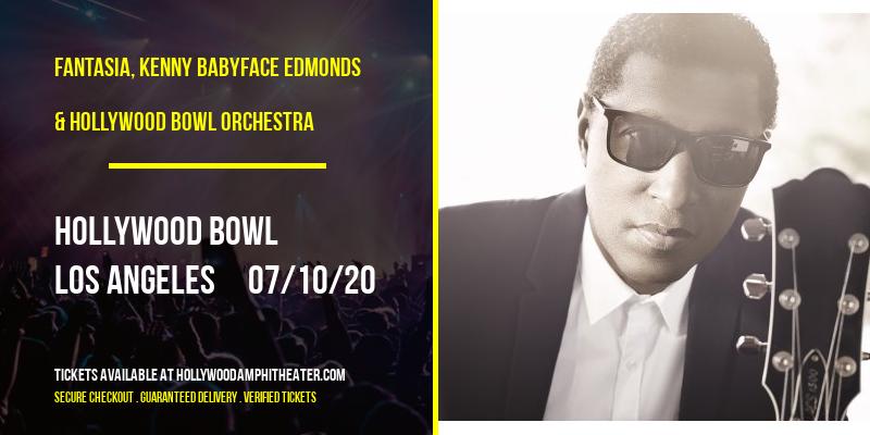 Fantasia, Kenny Babyface Edmonds & Hollywood Bowl Orchestra at Hollywood Bowl