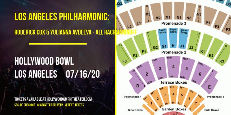 Los Angeles Philharmonic: Roderick Cox & Yulianna Avdeeva - All Rachmaninoff at Hollywood Bowl