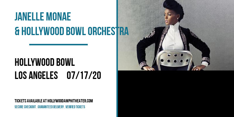 Janelle Monae & Hollywood Bowl Orchestra at Hollywood Bowl