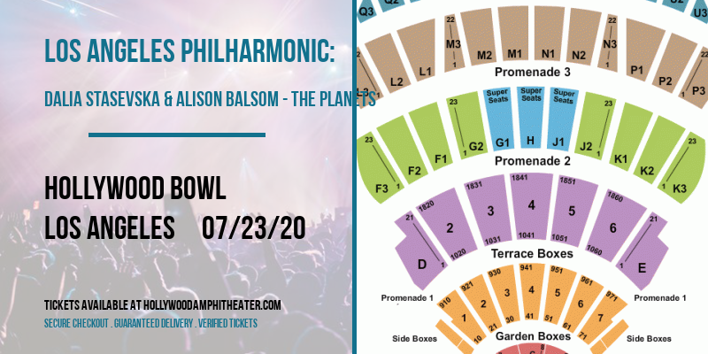 Los Angeles Philharmonic: Dalia Stasevska & Alison Balsom - The Planets at Hollywood Bowl