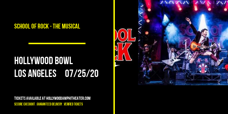 School Of Rock - The Musical at Hollywood Bowl