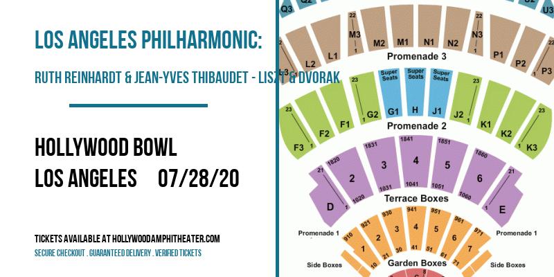 Los Angeles Philharmonic: Ruth Reinhardt & Jean-Yves Thibaudet - Liszt & Dvorak at Hollywood Bowl