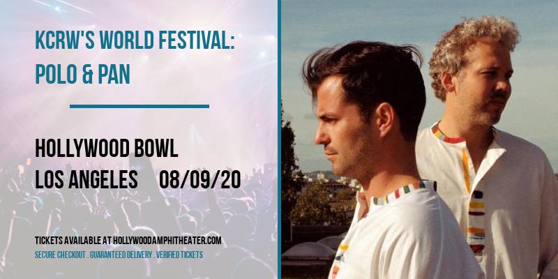 KCRW's World Festival: Polo & Pan at Hollywood Bowl