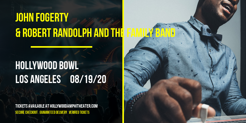 John Fogerty & Robert Randolph and The Family Band at Hollywood Bowl