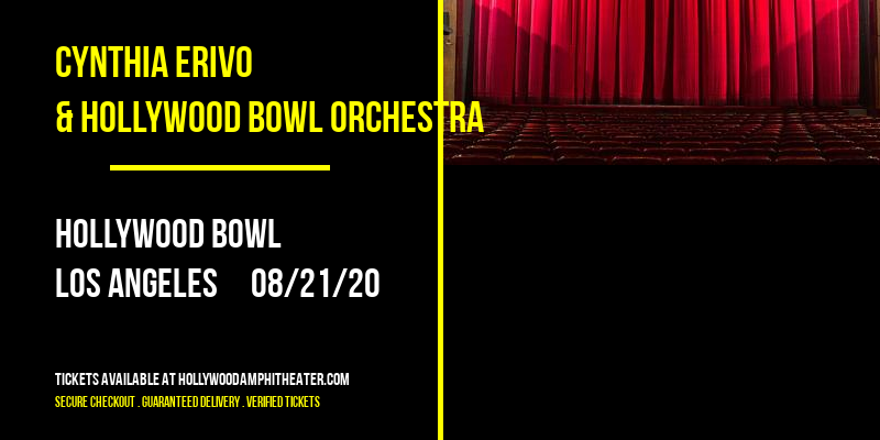 Cynthia Erivo & Hollywood Bowl Orchestra at Hollywood Bowl