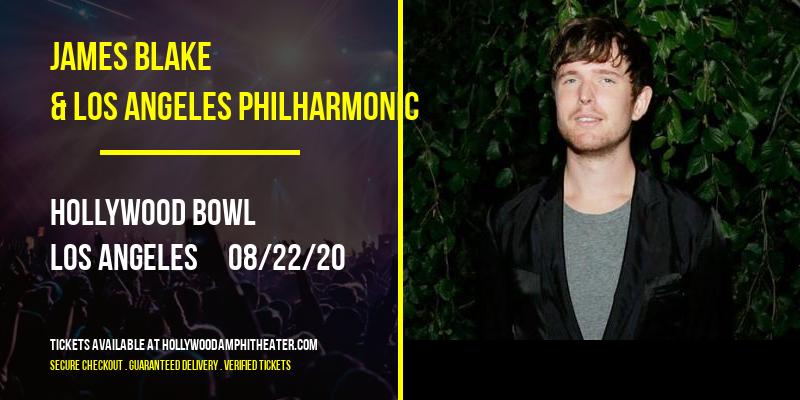 James Blake & Los Angeles Philharmonic at Hollywood Bowl