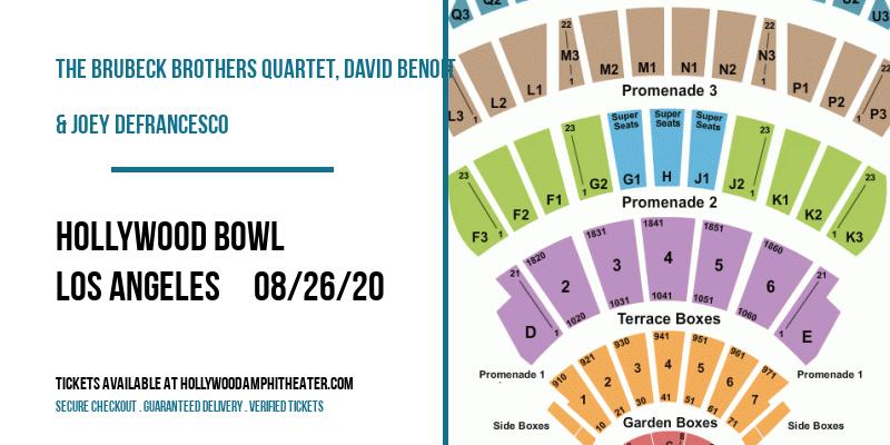 The Brubeck Brothers Quartet, David Benoit & Joey DeFrancesco at Hollywood Bowl