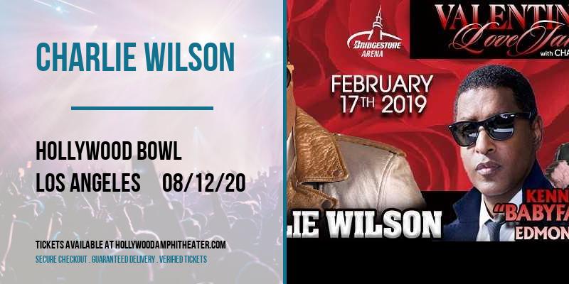 Charlie Wilson at Hollywood Bowl