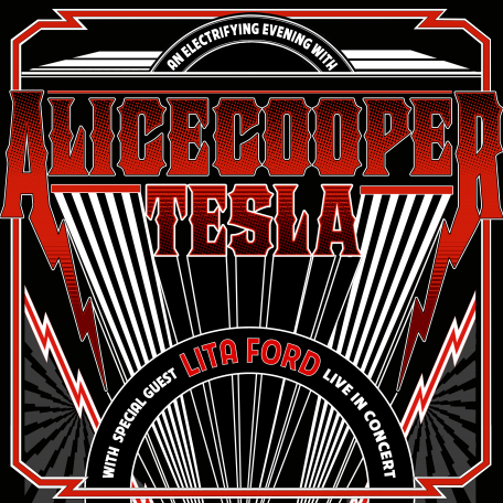 Alice Cooper, Tesla & Lita Ford at Hollywood Bowl