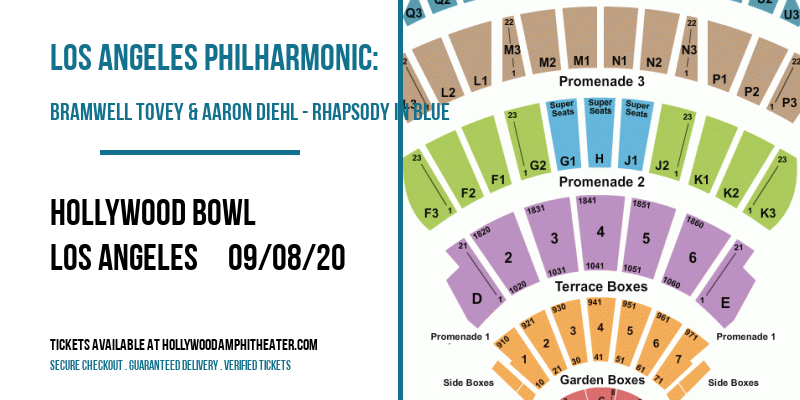 Los Angeles Philharmonic: Bramwell Tovey & Aaron Diehl - Rhapsody in Blue at Hollywood Bowl