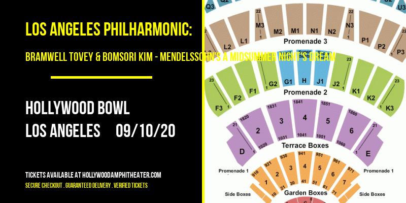 Los Angeles Philharmonic: Bramwell Tovey & Bomsori Kim - Mendelssohn's A Midsummer Night's Dream at Hollywood Bowl