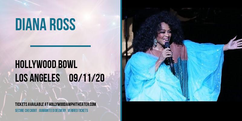 Diana Ross at Hollywood Bowl