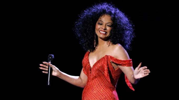 Diana Ross at Hollywood Bowl