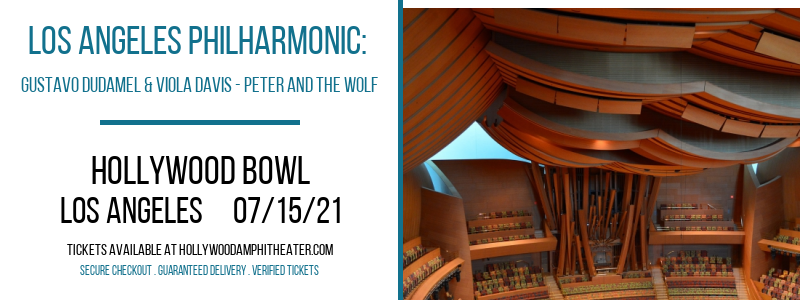 Los Angeles Philharmonic: Gustavo Dudamel & Viola Davis - Peter and The Wolf at Hollywood Bowl