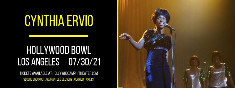 Cynthia Ervio at Hollywood Bowl