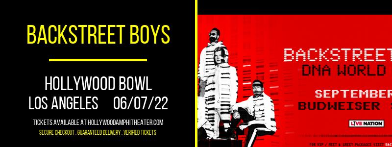 Backstreet Boys at Hollywood Bowl
