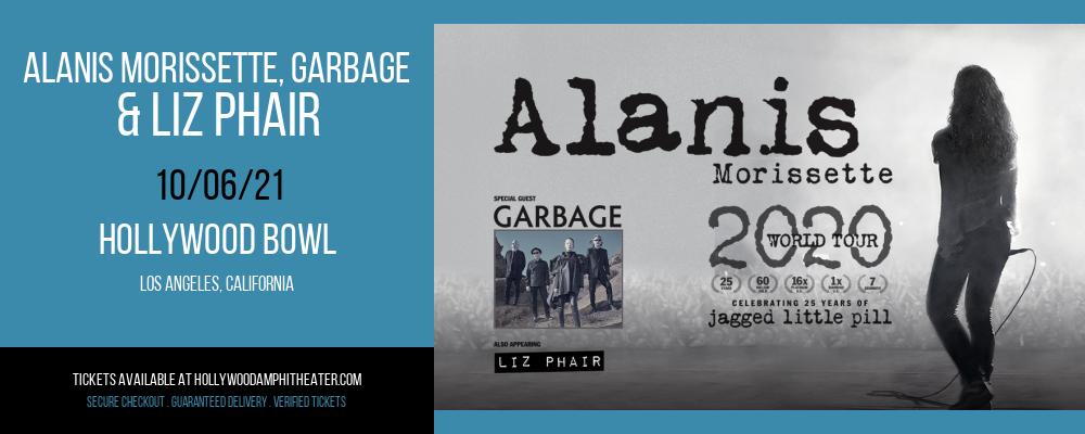 Alanis Morissette, Garbage & Liz Phair at Hollywood Bowl