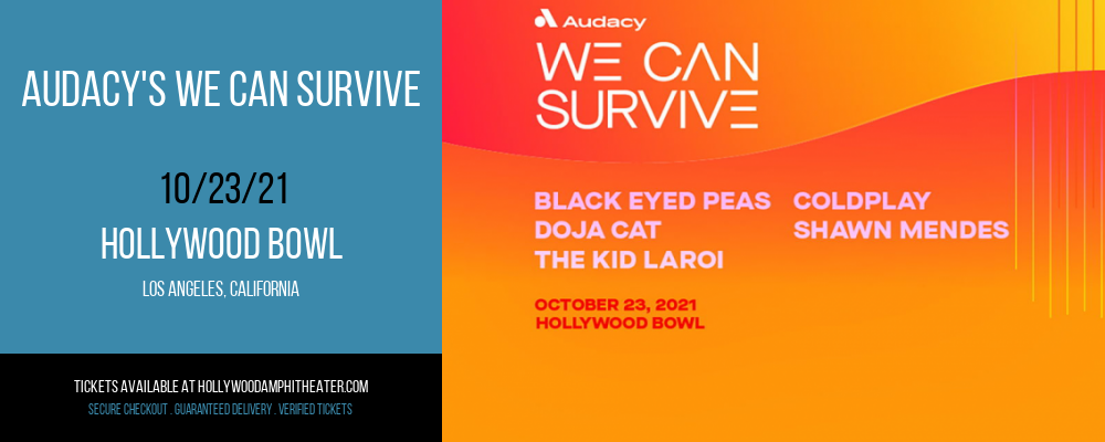 Audacy's We Can Survive at Hollywood Bowl