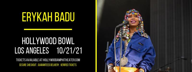 Erykah Badu at Hollywood Bowl