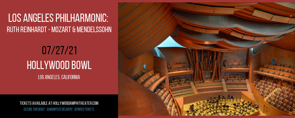 Los Angeles Philharmonic: Ruth Reinhardt - Mozart & Mendelssohn at Hollywood Bowl