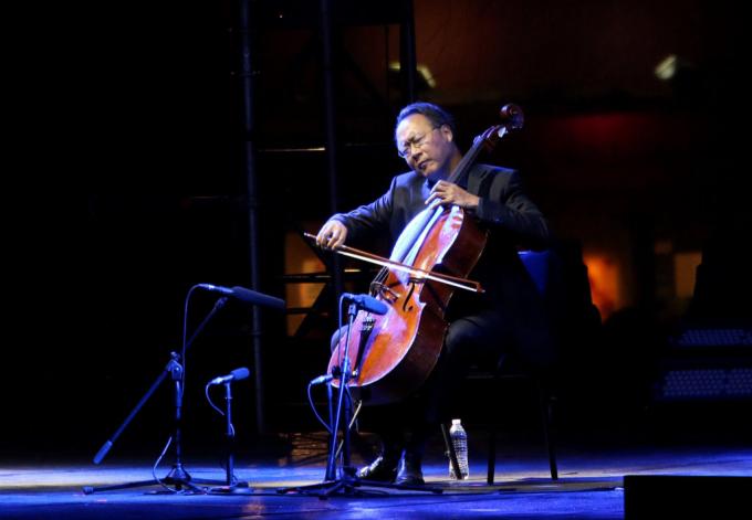 Yo-Yo Ma - The Bach Project at Hollywood Bowl