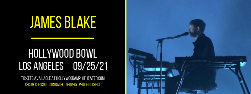 James Blake at Hollywood Bowl