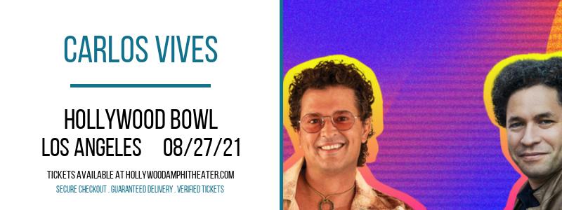 Carlos Vives at Hollywood Bowl