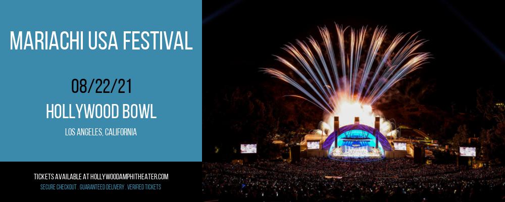 Mariachi USA Festival at Hollywood Bowl